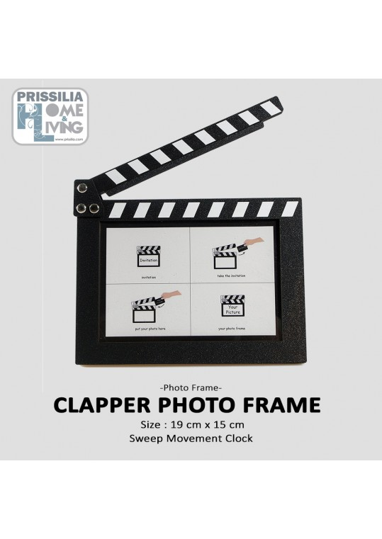 Clapper Photo Frame