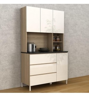 Sunny Kitchen Cabinet