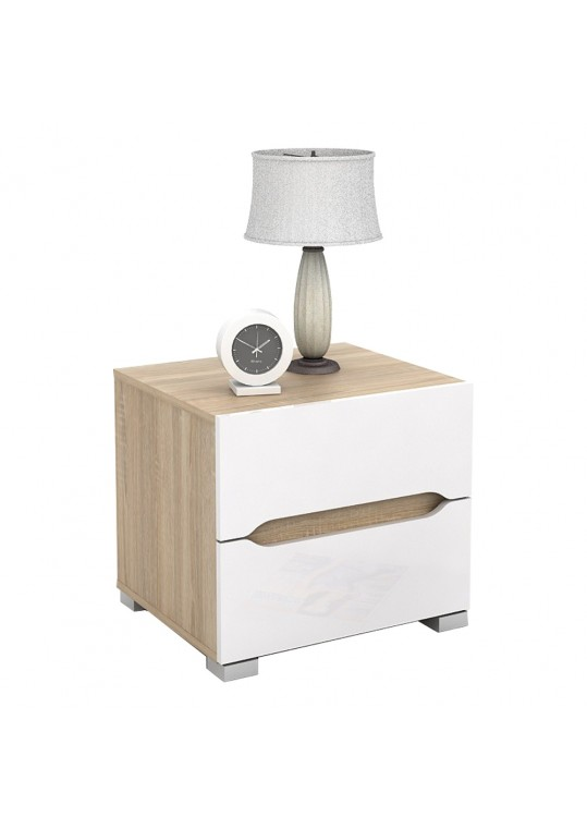 Ethan Night Stand - Sonoma White