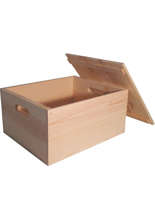 Machop Pine Box