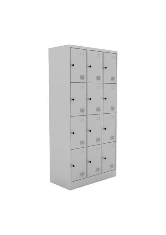 Chou Steel Locker 12 Doors