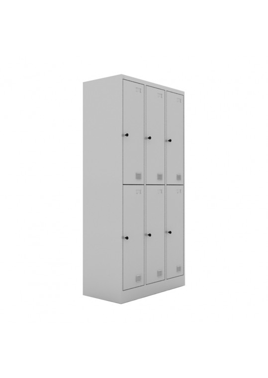 Chou Steel Locker 6 Doors