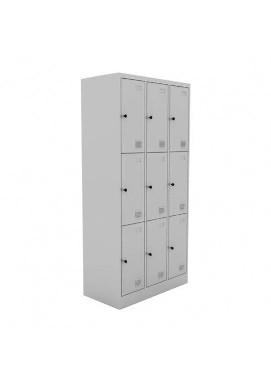 Chou Steel Locker 9 Doors