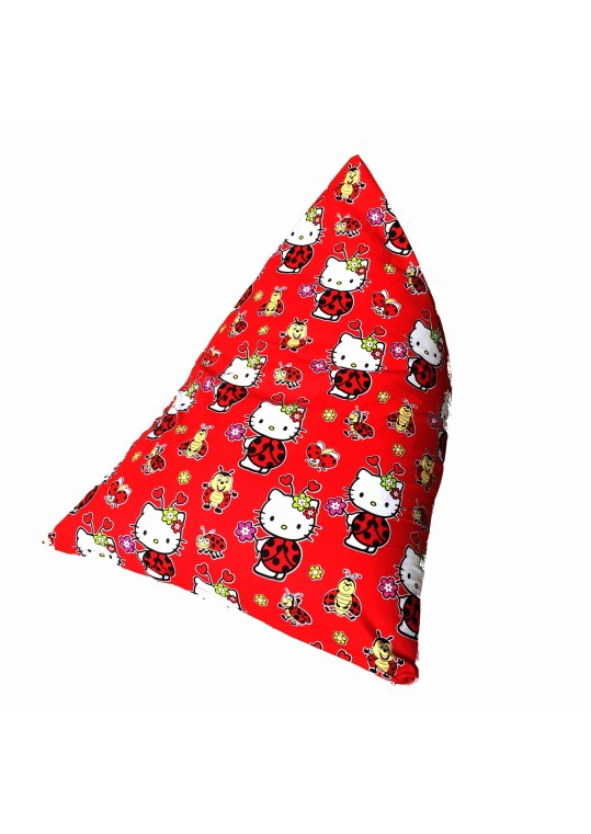 Bean Bag - Triangle Children Hello Kitty