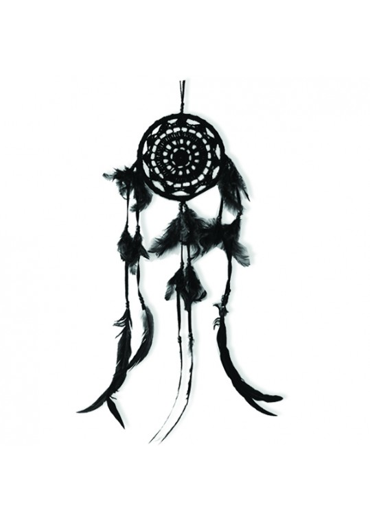 Prissilia Dream Catcher - Medium Black