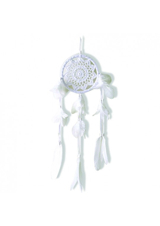 Prissilia Dream Catcher - Medium White
