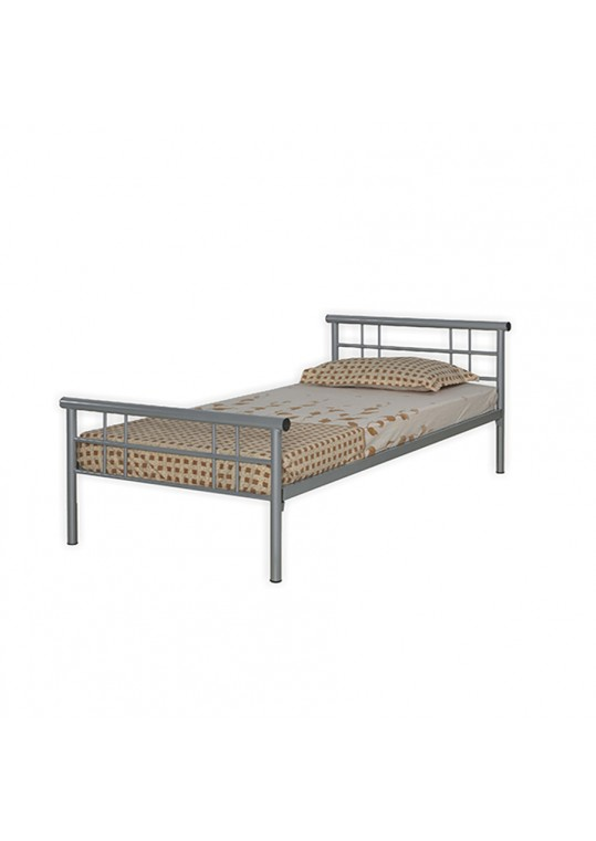 Jeddah Steel Bed Single